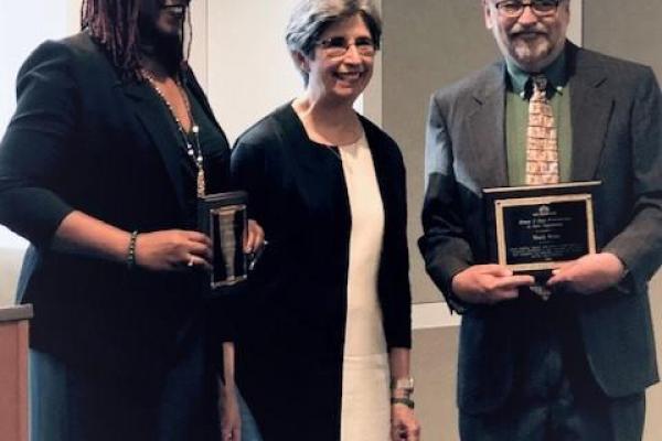 Bonnie E. Cone Awards Mark West Janaka Lewis